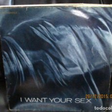Discos de vinilo: GEORGE MICHAEL ‎ I WANT YOUR SEX. Lote 213414816