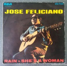 Discos de vinilo: VINILO EP JOSE FELICIANO RAIN. Lote 213416960