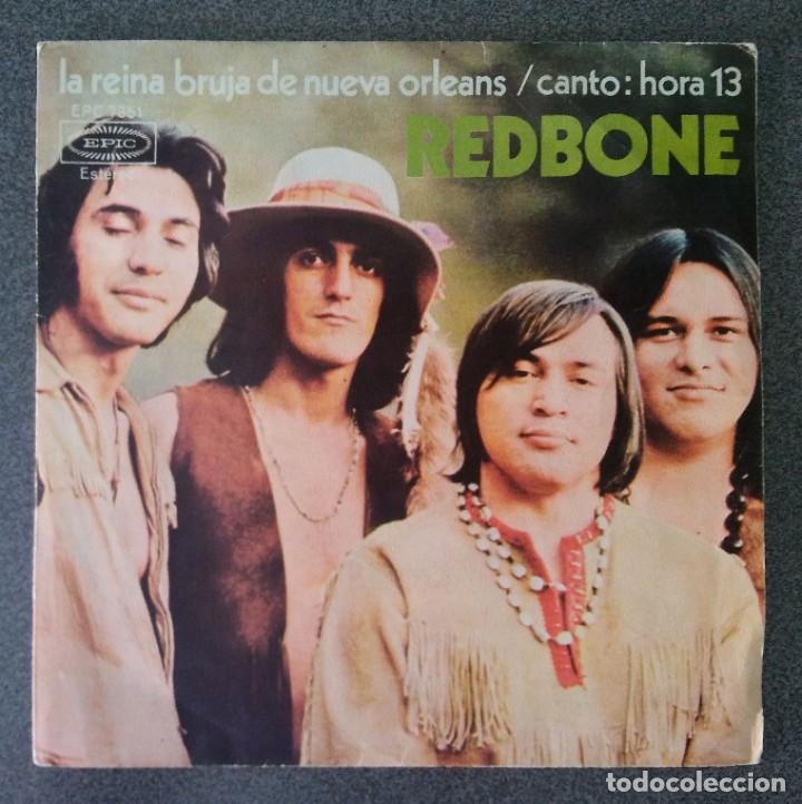 VINILO EP REDBONE (Música - Discos de Vinilo - EPs - Pop - Rock Extranjero de los 70)