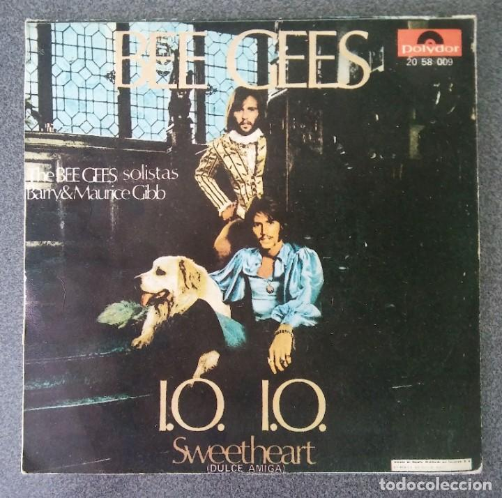 VINILO EP BEE GEES (Música - Discos de Vinilo - EPs - Pop - Rock Extranjero de los 70)