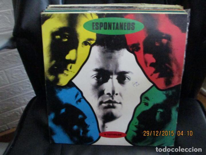 ESPONTANEOS ?– A TUTIPLE (Música - Discos - LP Vinilo - Grupos Españoles de los 90 a la actualidad)