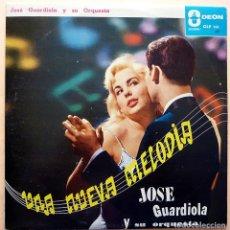 Discos de vinilo: JOSÉ GUARDIOLA: UNA NUEVA MELODÍA - LP - FAVEDICA (VENEZUELA) - 1961 - BUEN ESTADO (VG / VG+). Lote 213421338