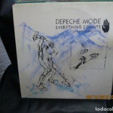 Discos de vinil: DEPECHE MODE ‎– EVERYTHING COUNTS (IN LARGER AMOUNTS). Lote 213422030
