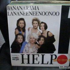 Discos de vinilo: BANANARAMA / LANANEENEENOONOO ?– HELP. Lote 213422467