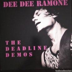 "Discos de vinilo: DEE DEE RAMONE DEADLINE DEMOS 10"" RAMONES PUNK. Lote 213422475"