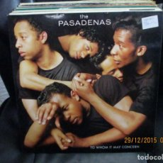 Discos de vinilo: THE PASADENAS ?– TO WHOM IT MAY CONCERN. Lote 213423168