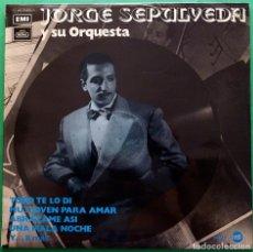 Discos de vinilo: JORGE SEPÚLVEDA: TODO TE LO DÍ Y 11 + - LP - EMI / REGAL - 1972 - BUEN ESTADO (VG / VG+). Lote 213423352