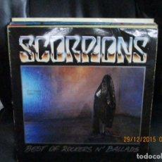 Discos de vinilo: SCORPIONS – BEST OF ROCKERS N' BALLADS. Lote 213425311