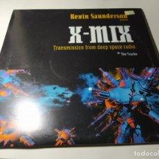Discos de vinilo: LP- KEVIN SAUNDERSON – X-MIX - TRANSMISSION FROM DEEP SPACE RADIO - !K7061LP - 3LP ( VG+ / VG+) 97. Lote 213426761