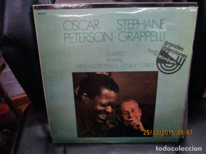 OSCAR PETERSON - STEPHANE GRAPPELLI QUARTET* ?– OSCAR PETERSON - STEPHANE GRAPPELLI QUARTET VOL. 2 (Música - Discos - LP Vinilo - Jazz, Jazz-Rock, Blues y R&B)