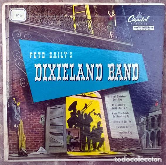 PETE DAILY'S DIXIELAND BAND. CAPITOL EBF-183, USA 1950 (2 EP + DOBLE CAPRPETA) (Música - Discos de Vinilo - EPs - Jazz, Jazz-Rock, Blues y R&B)