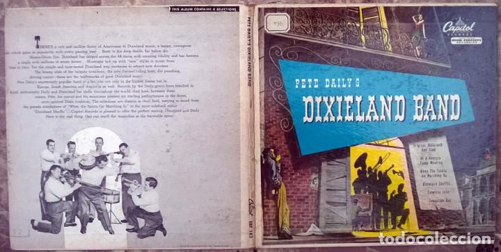 Discos de vinilo: Pete Dailys Dixieland Band. Capitol EBF-183, USA 1950 (2 EP + doble caprpeta) - Foto 2 - 213437976