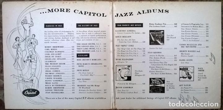 Discos de vinilo: Pete Dailys Dixieland Band. Capitol EBF-183, USA 1950 (2 EP + doble caprpeta) - Foto 3 - 213437976