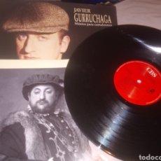 Disques de vinyle: DISCO JAVIER GURRUCHAGA. Lote 213438772