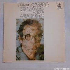 Discos de vinilo: JOSÉ AFONSO. EU VOU SER COMO A TOUPEIRA. HXS 001-43. ESPAÑA 1976. DISCO VG+. CARÁTULA VG+.. Lote 213438820