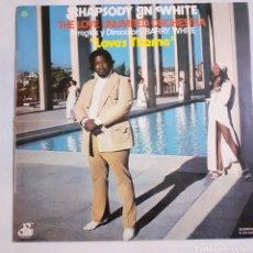 Discos de vinilo: BARRY WHITE. RHAPSODY IN WHITE. S-32.565. 1974 ESPAÑA.. Lote 213439728