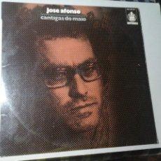 Discos de vinilo: JOSÉ AFONSO. CANTIGAS DO MAIO. LP. HISPAVOX HXS 001-36 . 1ª ED. 1975. CANCIÓN PORTUGUESA. RARO.. Lote 213441598