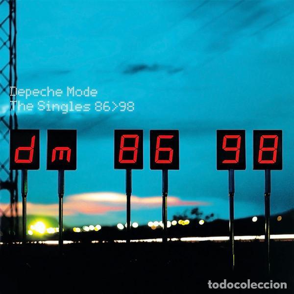 2 LP DEPECHE MODE - THE SINGLES 86-98 - MUTE LMUTEL5 - GATEFOLD - REEDICION (M/M)* (Música - Discos - LP Vinilo - Pop - Rock - New Wave Extranjero de los 80)