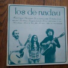 Discos de vinilo: LOS DE NADAU. Lote 213449181