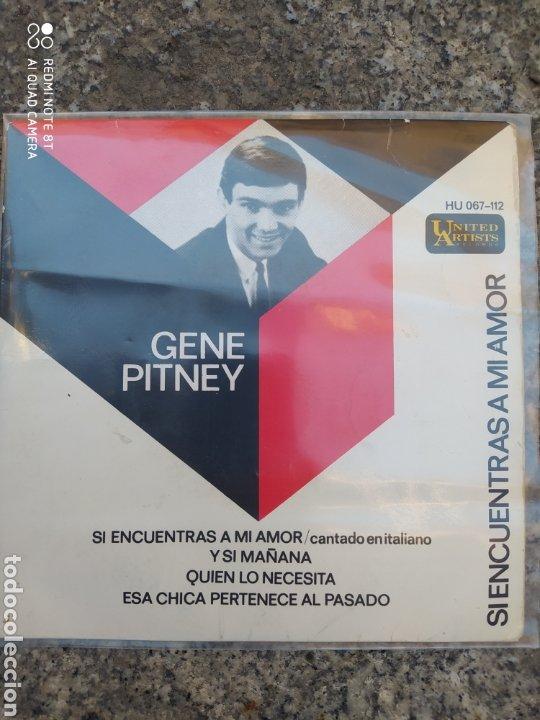 GENE PITNEY. SI ENCUENTRAS MI AMOR. EP VINILO SPAIN BUEN ESTADO (Música - Discos de Vinilo - EPs - Pop - Rock Extranjero de los 50 y 60)