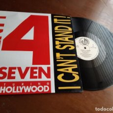 Discos de vinilo: TWENTY 4 SEVEN FEATURING CAPT. HOLLYWOOD - I CAN'T STAND IT! - 1990. Lote 213456812