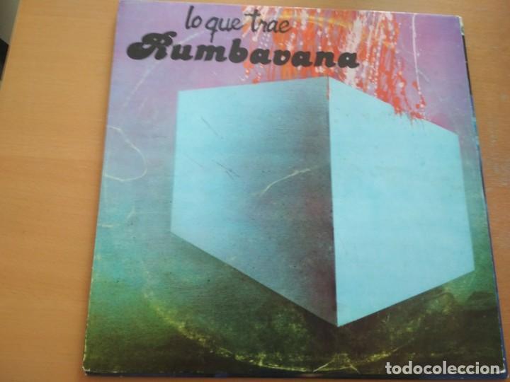 LO QUE TRAE RUMBAVANA LP 1987 CUBA (Música - Discos - LP Vinilo - Grupos y Solistas de latinoamérica)