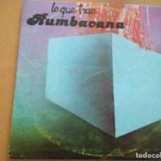 Discos de vinilo: LO QUE TRAE RUMBAVANA LP 1987 CUBA. Lote 213457467
