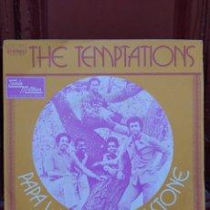 Discos de vinilo: THE TEMPTATIONS-PAPA WAS A ROLLIN' STONE. SINGLE VINILO 1973. BUEN ESTADO. Lote 213460772