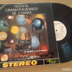 Discos de vinilo: FESTIVAL CINEMATOGRAFICO DE CANNES - LP VINILO AÑO 1970. Lote 213467910