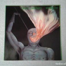 Discos de vinilo: BRUCE COCKBURN -STEALING FIRE- LP PLANE 1984 LC 0972 MUY BUENAS CONDICIONES. ED. ALEMANA.. Lote 213472701