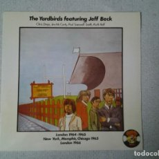Discos de vinilo: THE YARDBIRDS FEATURING JEFF BECK LP CHARLY RECORDS 1977 77-CH5 MUY BUENAS CONDICIONES. ED. ESPAÑOL. Lote 213472981