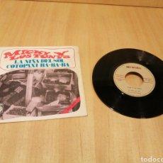 Disques de vinyle: MICKY LOS TONYS. LA NIÑA DEL SOL. COTOPAXI BA BA BA.. Lote 213473503