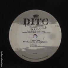 Discos de vinilo: D.I.T.C. – DAY ONE - MAXI. Lote 213473706