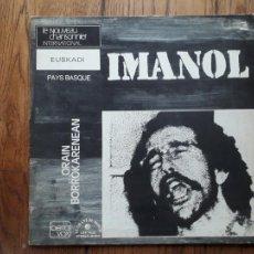 Discos de vinilo: IMANOL - ....ORAIN BORROKARENEAN. Lote 213477445