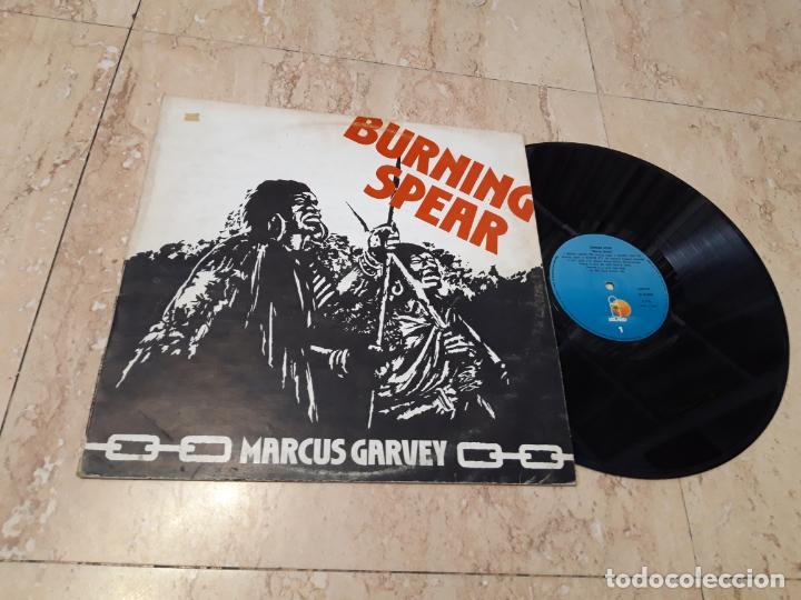 BURNING SPEAR ?– MARCUS GARVEY-LP-1981-ESPAÑA- ISLAND RECORDS ?– I-203617- (Música - Discos - LP Vinilo - Reggae - Ska)
