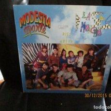 Discos de vinilo: MODESTIA APARTE- LA 5 MARCHA. Lote 213484643