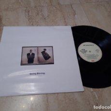 Disques de vinyle: PET SHOP BOYS – BEING BORING- ESPAÑA-1990-MAXI. Lote 213486840