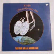 Discos de vinilo: VAN DER GRAAF GENERATOR. H TO HE, WHO AM THE ONLY ONE. 1978 ESPAÑA. 63 69 907 (04). DISCO VG++.. Lote 213486943