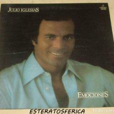 Discos de vinilo: JULIO IGLESIAS - EMOCIONES - COLUMBIA 1978. Lote 213487315
