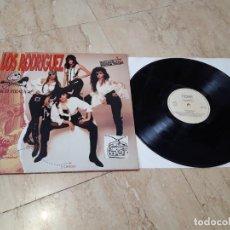 Discos de vinilo: LOS RODRIGUEZ-DISCO PIRATA-LP-ORIGINAL-CARPETA ABIERTA-RTVE MUSICA-RQR RECORDS-1992-EXCELENTE-. Lote 227730930