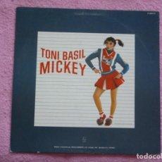 Disques de vinyle: TONI BASIL,MICKEY VERSION EN ESPAÑOL DEL 83. Lote 213495180