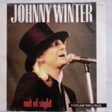 Discos de vinilo: JOHNNY WINTER. OUT OF SIGHT. 30112133. ESPAÑA 1987.. Lote 213507438