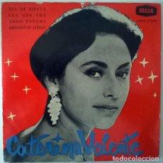 Discos de vinilo: CATERINA VALENTE. DIA DE FIESTA/ CUA CUA CUA/ ADIOS PANAMA/ BROADWAY CONGA. DECCA, SPAIN 1960 EP. Lote 213513047