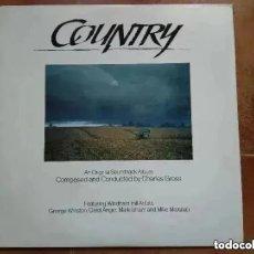 Discos de vinil: COUNTRY - CHARLES GROSS (LP) AN ORIGINAL SOUNDTRACK ALBUM. 1984. Lote 213519701