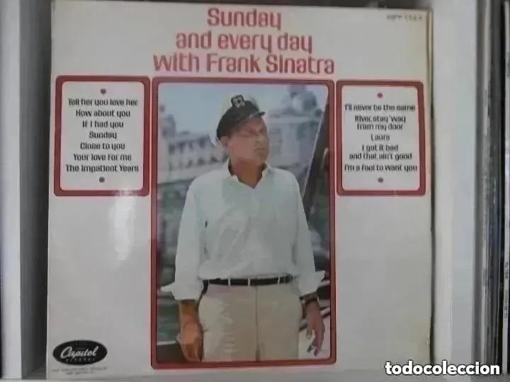 FRANK SINATRA - SUNDAY AND EVERY DAY WITH FRANK SINATRA (LP) EDICION INGLESA (Música - Discos - LP Vinilo - Cantautores Extranjeros)