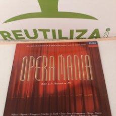 Discos de vinilo: OPERAMANIA.DOBLE LP.. Lote 213528080
