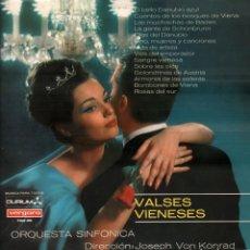 Discos de vinilo: VALDES VIENESES - LP VERGARA DE 1967 RF-8273. Lote 213528725
