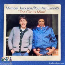 Discos de vinilo: SINGLE MICHAEL JACKSON /PAUL MCCARTNEY - THE GIRL IS MINE - ESPAÑA - AÑO 1982. Lote 213534082