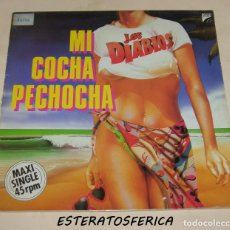 Discos de vinilo: LOS DIABLOS , MI COCHA PECHOCHA - OPEN RECORDS 1987. Lote 213540387