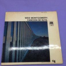 Discos de vinilo: LP -- WES MONTGOMERY: CANCION DE RUTA --MADRID--VG. Lote 213541512